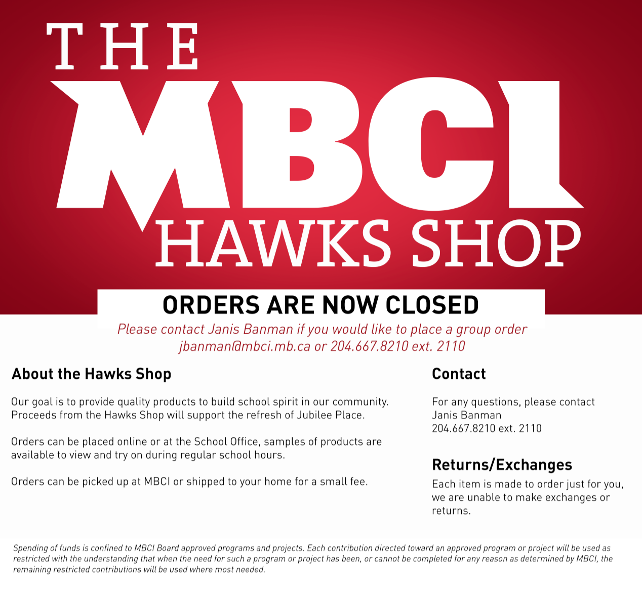 Hawks Shop