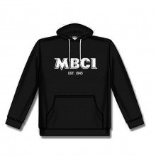 Hoody with MBCI lettering