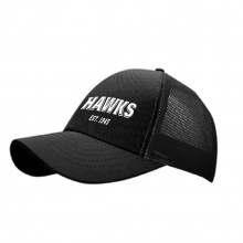 Mesh cap with Hawks lettering