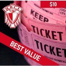 50/50 Draw - 20 tickets