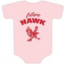 Future Hawk baby onesie