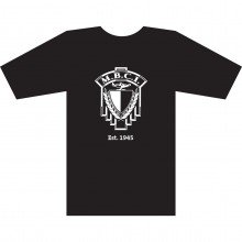 T-shirt with crest logo